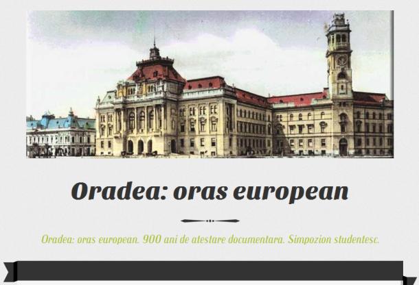 oradea oras european