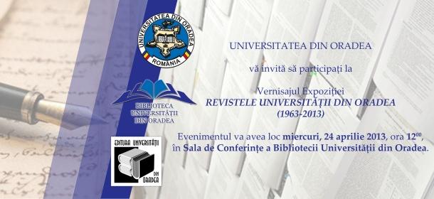 invitatie expozitie reviste academice