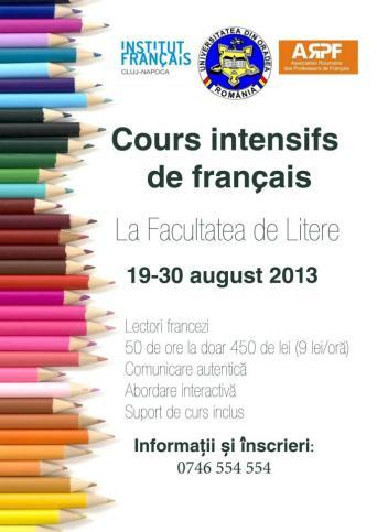 curs intensiv de franceza