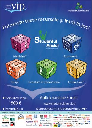 Afis_Studentul_Anului