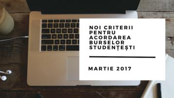 Noi criterii pentru acordarea burselor studențești