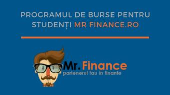 Programul de Burse pentru Studenți MrFinance.ro