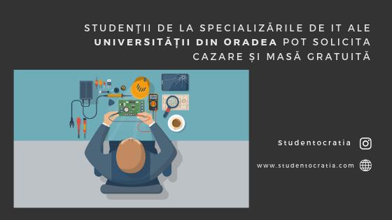 Studenţii de la specializările de IT ale